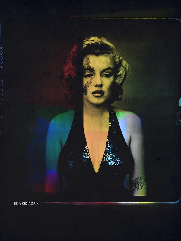 B.A.K.A - Be A Kid Again - Marilyn Monroe - Tarik Mikou