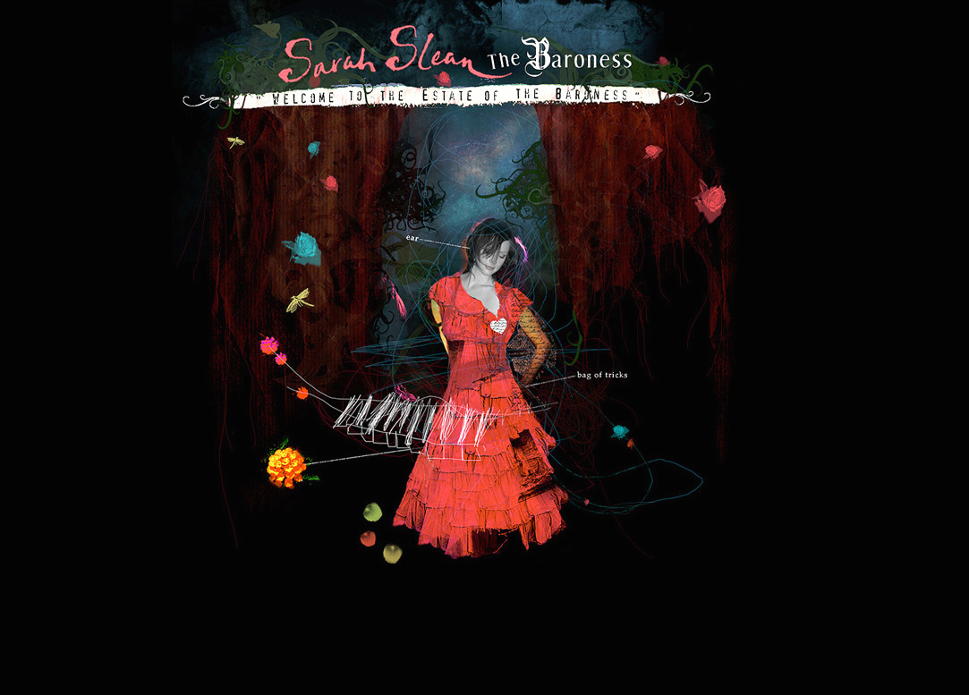 sarah slean - the estate of the baroness - Tarik Mikou